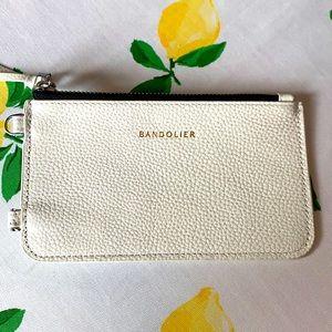 BANDOLIER Classic pebble leather zipper pouch